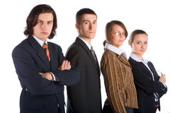 Jeune équipe d'affaires Photos stock