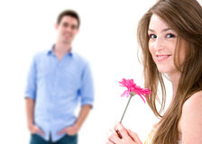 Jeune Romance Images stock