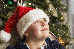 Jeune Santa Image libre de droits