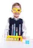 Jeune scientifique Photo stock
