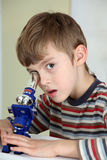 Jeune scientifique Image stock