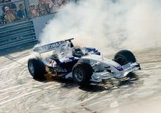 Jeune Sebastian Vettel conduisant BMW 2007 de Sauber Photographie stock