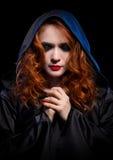 Jeune sorcière d'isolement Image libre de droits