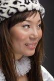 Jeune sourire asiatique de femme Photographie stock