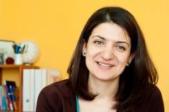 Jeune sourire de femme d'affaires Image stock
