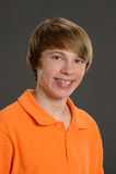 Jeune sourire de garçon Photo libre de droits