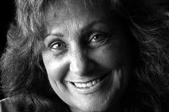Jeune sourire de grand-mère images libres de droits