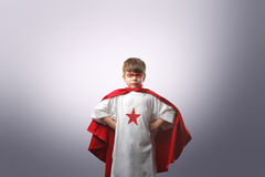 Jeune superhero photo stock