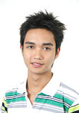 Jeune type asiatique beau Images libres de droits