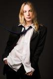 Jeune type avec le cheveu blond Photo libre de droits