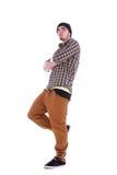 Jeune type beau avec vêtements modernes Photographie stock