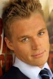 Jeune type blond Images libres de droits