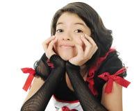 Jeune Valentine Teen en gros plan photographie stock