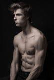 Jeune verticale belle d'homme photos stock