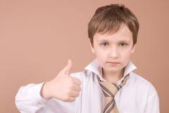Jeune verticale d'homme d'affaires Photo libre de droits