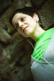 Jeune verticale de femme adulte Photographie stock