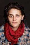 Jeune verticale de fineart d'artiste photo libre de droits