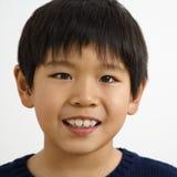 Jeune verticale de garçon Photo libre de droits