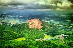 Jeune volcan Photographie stock libre de droits