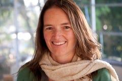 Jeune woman1 de sourire Photographie stock libre de droits