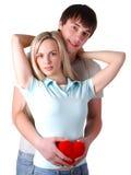 jeunes aimants de couples Photographie stock libre de droits