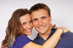 Jeunes ajouter attrayants à ensemble Photos stock