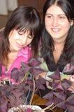 Jeunes amies heureuses Image stock