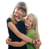 Jeunes amis féminins Image stock