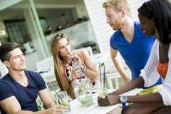 Jeunes amis multiraciaux Image libre de droits