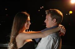Jeunes amoureux Photos libres de droits