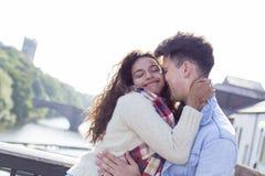 Jeunes amoureux heureux Images stock