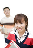 Jeunes asiatiques Images libres de droits