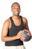 jeunes beaux de verticale d'homme d'afro-américain photos libres de droits
