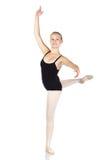 jeunes caucasiens de ballerine Photo libre de droits