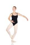 jeunes caucasiens de ballerine Photographie stock libre de droits