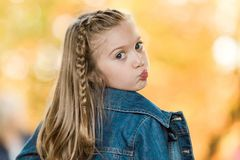 jeunes caucasiens de fille image stock