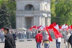 Jeunes communistes Photographie stock libre de droits
