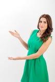 jeunes confiants de femme de verticale d'affaires photo libre de droits