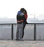 Jeunes couples Photographie stock libre de droits