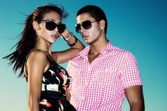 Jeunes couples Photo libre de droits