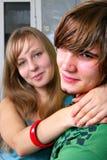 Jeunes couples image libre de droits