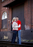 Jeunes couples Photo stock