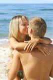 Jeunes couples affectueux photographie stock libre de droits