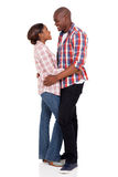 Jeunes couples africains Images stock