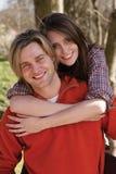 Jeunes couples attrayants Photos stock
