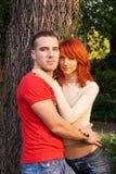 Jeunes couples attrayants Images stock
