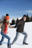 Jeunes couples ayant l'amusement Images stock
