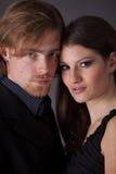 Jeunes couples beaux Images libres de droits