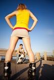 Jeunes couples caucasiens images libres de droits