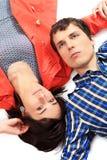Jeunes couples d'amour. Photo libre de droits